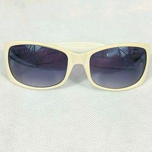 Coach Gray White Gray Sunglasses made Italy